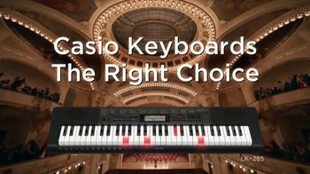 Casio LK-265 TV Spot, 'The Right Choice' - Thumbnail 10