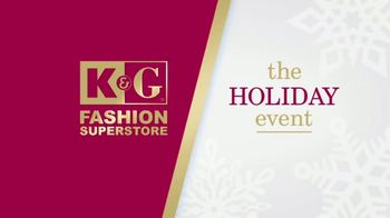 K&G Fashion Superstore The Holiday Event TV Spot, 'Women's Dresses & Suits'