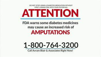 Avram Blair & Associates TV Spot, 'Diabetes Medication and Amputation' - Thumbnail 2