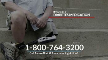 Avram Blair & Associates TV Spot, 'Diabetes Medication and Amputation' - Thumbnail 4
