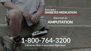Avram Blair & Associates TV Spot, 'Diabetes Medication and Amputation' - Thumbnail 5