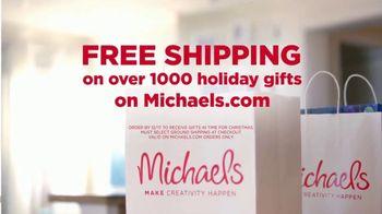 Michaels TV Spot, 'The Spirit of Making: Free Shipping' - Thumbnail 9