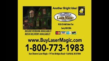 Star Shower Laser Magic TV Spot, 'Does This Really Work?' Feat. Bunny Meyer - Thumbnail 10