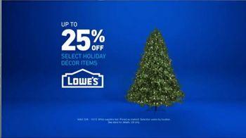 Lowe's TV Spot, 'Snowman: Holiday Decor Items' - Thumbnail 10