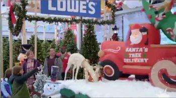 Lowe's TV Spot, 'Snowman: Holiday Decor Items' - Thumbnail 6