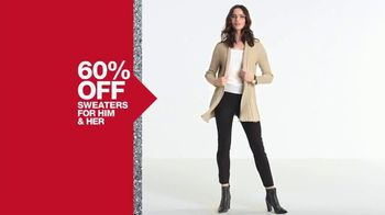 Macy's One Day Sale TV Spot, 'Deals of the Day: Sweaters and Coats' - Thumbnail 4