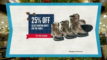 Cabela's Christmas Sale TV Spot, 'Deck the Halls: Boots and Fly Rod' - Thumbnail 4
