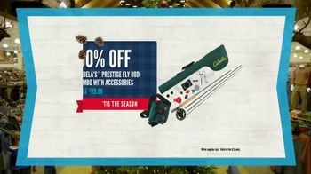 Cabela's Christmas Sale TV Spot, 'Deck the Halls: Boots and Fly Rod' - Thumbnail 5