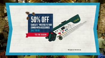 Cabela's Christmas Sale TV Spot, 'Deck the Halls: Boots and Fly Rod' - Thumbnail 6