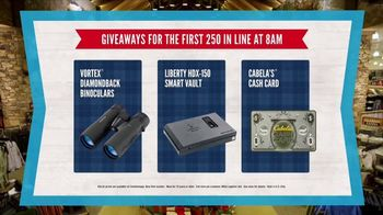 Cabela's Christmas Sale TV Spot, 'Deck the Halls: 8am Doorbusters' - Thumbnail 6