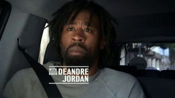 Uber TV Spot, 'Rolling With the Champion: DeAndre Jordan' - 11 commercial airings