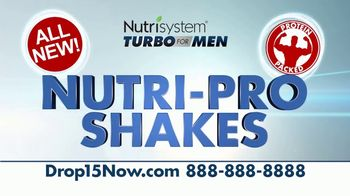Nutrisystem Turbo for Men TV Spot, 'Stamina' - Thumbnail 4
