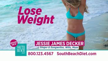 South Beach Diet TV Spot, 'Foolproof: Free Shakes' Ft. Jessie James Decker - Thumbnail 2