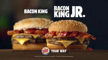 Burger King Bacon King Jr. TV Spot, 'Gran sabor' [Spanish] - Thumbnail 8
