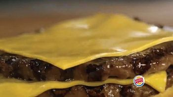 Burger King Bacon King Jr. TV Spot, 'Gran sabor' [Spanish] - Thumbnail 4
