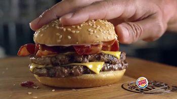 Burger King Bacon King Jr. TV Spot, 'Gran sabor' [Spanish] - Thumbnail 7
