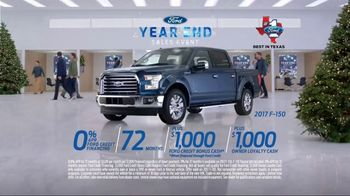 Ford Year End Sales Event TV Spot, 'Here Comes Santa Claus' [T2] - Thumbnail 7