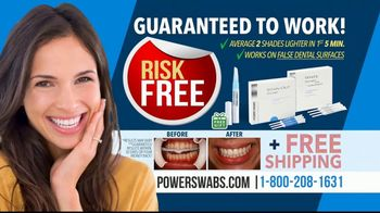 Power Swabs TV Spot, 'Coffee Smile: Whitening Toothpaste Doesn't Cut It' - Thumbnail 9