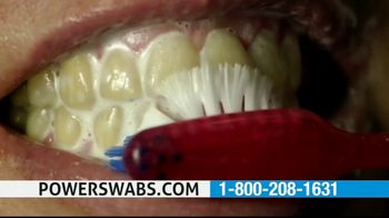 Power Swabs TV Spot, 'Coffee Smile: Whitening Toothpaste Doesn't Cut It'