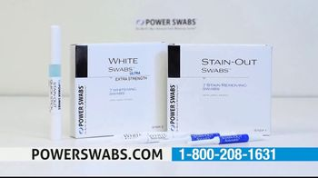 Power Swabs TV Spot, 'Coffee Smile: Whitening Toothpaste Doesn't Cut It' - Thumbnail 4