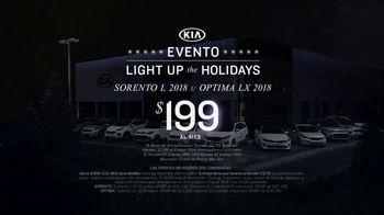 Kia Evento Light Up the Holidays TV Spot, '2018 Sorento' [Spanish] - Thumbnail 5