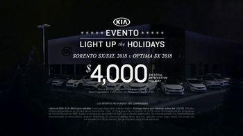 Kia Evento Light Up the Holidays TV Spot, '2018 Sorento' [Spanish] - Thumbnail 6