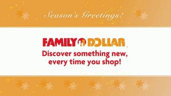 Family Dollar TV Spot, 'Season's Greetings' - Thumbnail 7