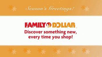 Family Dollar TV Spot, 'Season's Greetings' - Thumbnail 5