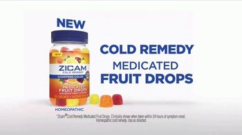 Zicam Cold Remedy Medicated Fruit Drops TV Spot, 'Cold Calling' - Thumbnail 4