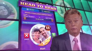 Wheel of Fortune Free Play TV Spot, 'Wheel Master' Featuring Pat Sajak - Thumbnail 4