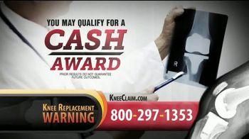 Gold Shield Group TV Spot, 'Knee Replacement: Cash Award'