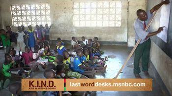 UNICEF K.I.N.D. Project TV Spot, 'MSNBC: Malawi Schools' - Thumbnail 1