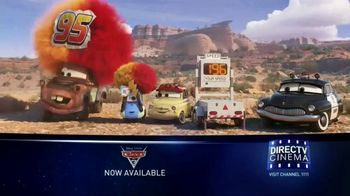 DIRECTV Cinema TV Spot, 'Cars 3' - Thumbnail 3