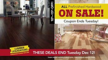 Lumber Liquidators Hardwood Sale TV Spot, 'Get a Deal, Get It Done'