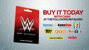 WWE Network Gift Card TV Spot, 'Give the Perfect Gift This Holiday Season' - Thumbnail 6