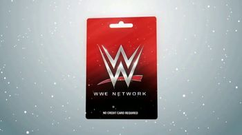 WWE Network Gift Card TV Spot, \'Give the Perfect Gift This Holiday Season\'