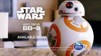 Star Wars Hero Droid BB-8 TV Spot, 'Incredibly Realistic' - Thumbnail 9
