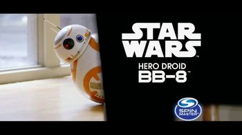 Star Wars Hero Droid BB-8 TV Spot, 'Incredibly Realistic'