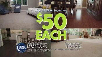 Luna Flooring $50 Room Sale TV Spot, 'Update Your Floors'