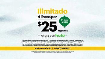 Sprint Unlimited TV Spot, '¡Sprint es para ti y Hulu también!' [Spanish] - Thumbnail 5
