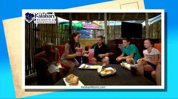Kalahari Resort and Conventions TV Spot, 'Postcard Moment: Indoor Water Parks'