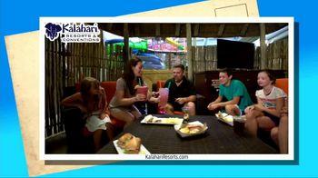 Kalahari Resort and Conventions TV Spot, 'Postcard Moment: Indoor Water Parks' - Thumbnail 1