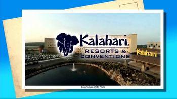 Kalahari Resort and Conventions TV Spot, 'Postcard Moment: Indoor Water Parks' - Thumbnail 10