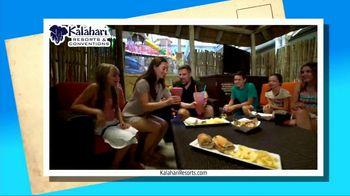 Kalahari Resort and Conventions TV Spot, 'Postcard Moment: Indoor Water Parks' - Thumbnail 2