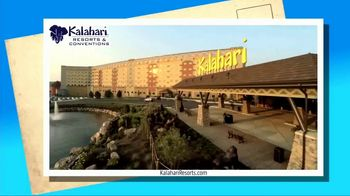 Kalahari Resort and Conventions TV Spot, 'Postcard Moment: Indoor Water Parks' - Thumbnail 3