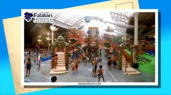 Kalahari Resort and Conventions TV Spot, 'Postcard Moment: Indoor Water Parks' - Thumbnail 4