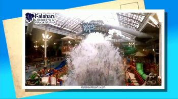 Kalahari Resort and Conventions TV Spot, 'Postcard Moment: Indoor Water Parks' - Thumbnail 5