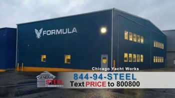 General Steel Corporation TV Spot, 'Own a Metal Building for Less'