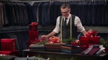 Men's Wearhouse TV Spot, 'The Gift He Needs: Coats, Sweaters and Suits' - Thumbnail 3