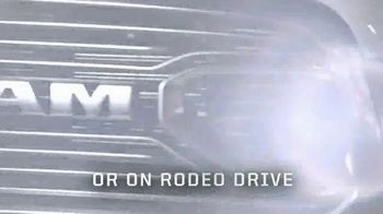 Ram 1500 Limited Tungsten TV Spot, 'Rodeo to Rodeo Drive' - Thumbnail 8